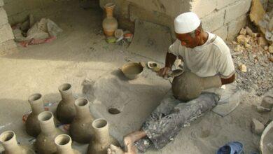 تصویر از جهـــله؛ میراث ۵ هزار ساله سفالگران مینابی/«آب سردکن» عصر باستان مشتری ندارد