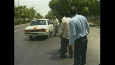 تصویر از کلیپ طنز قدیمی شو بندر با موضوع تاکسی